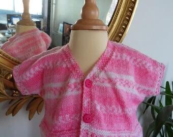 "Vest pink ""Self"""