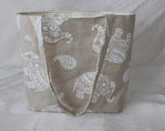 Indonesian patterned bag / Tote