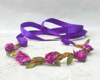 Headband flower headband