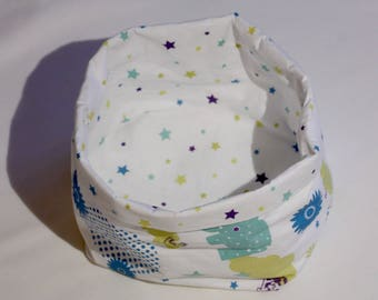 Basket for wipes or baby products