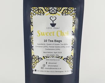 Sweet Chai Tea Bags