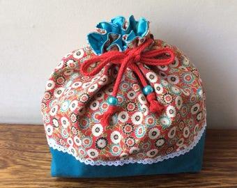 Lunch bag asiatique - drawstring bag for lunch