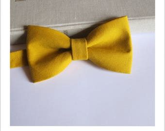 Bow tie mustard jeans
