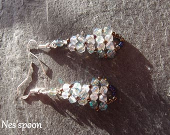 NES'spoon Swarovski earrings / Swarovski earrings