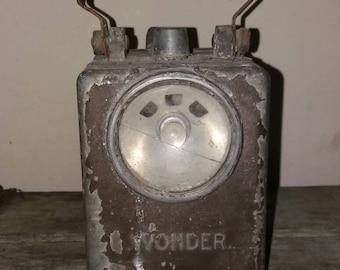 Vintage French Wonder Agral Portable Lantern, French Railway,Decor, Loft Style, Light, French Light, Decoration