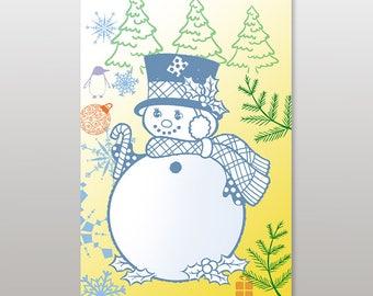 Folding Cards, Christmas Cards.