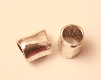 13 * 18 mm, set of 2 tube shaped spacer connector