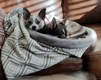 Reversible Nap Sacks - Pet Bed epattern