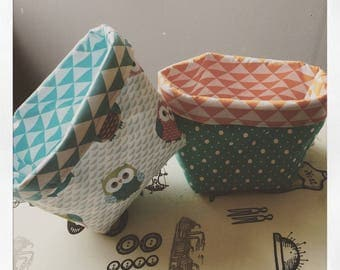 Order your fabric reversible basket...