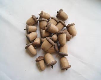 tassel made of wood
