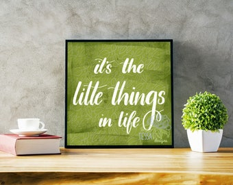 Little Things — Digital Download