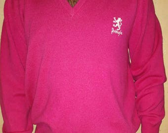 PRINGLE SPORTS sweater, made in Scotland, size L, Pringle wool sweater, Pringle mens sweater
