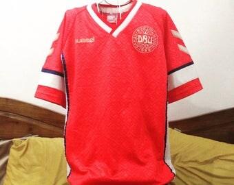 Vintage Denmark Football Jersey