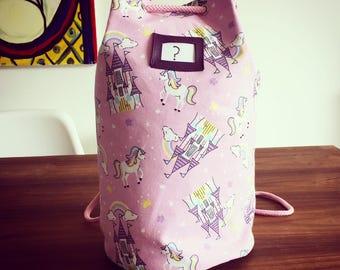 Unicorn Print Duffel Bag