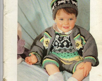 Anny Blatt knitting catalog special baby and children 24 designs