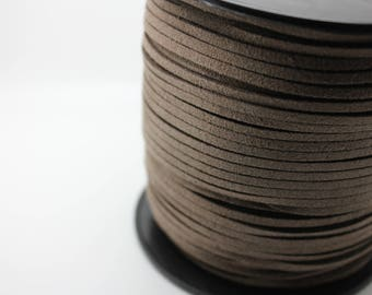 5 m cord 3x1.5mm Brown Ribbon