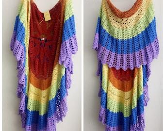 Multicolor vest