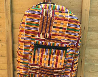 Esra Africa print Back pack