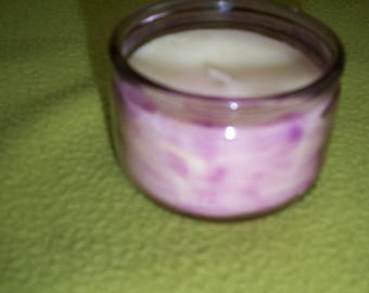 Lavender candle with beeswax and soy