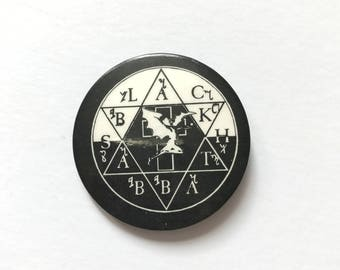 1980s 'Black Sabbath' Pin