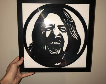 Dave Grohl Vinyl Art-Wall Decor