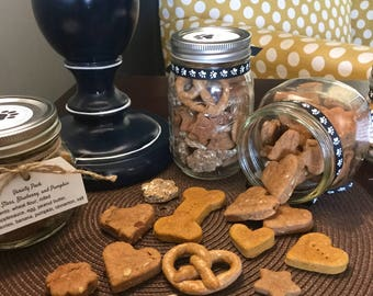 Dog Treats - Peanut butter bacon - Pup Treats