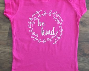 Be Kind Wreath - Toddler/ Children's Tee