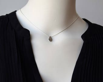 Choker Hamsa Necklace,Silver Hamsa Choker Necklace,Dainty Necklace,Minimalist Choker Necklace,Silver Hamsa Jewelry,Dainty Choker Necklace