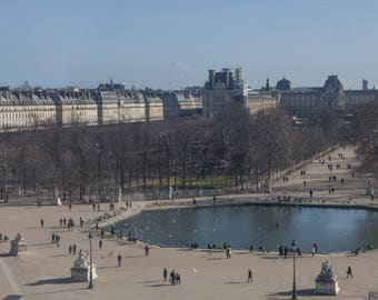 Poster - Paris Tuileries