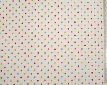 "Makower - ""Juicy"" 05 - polka dots fabric"