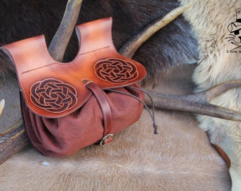 Purse medieval Celtic knot