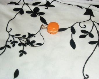 phone charm / strap Macaron in polymer clay