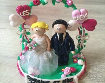 Figurines of groom for cake/confection (Fimo) to order only