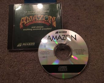Amazon Guardians Of Eden (PC, 1992) Game CD Talking Version in Case - VG Condtn