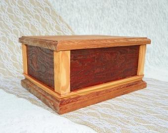 Keepsake, Jewelry, Trinket, Storage, wooden box
