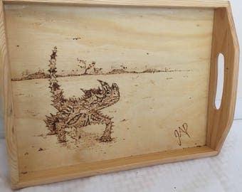 Thorny Lizard Tray