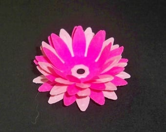 SCRAPBOOKING Lot Punch flower 3d color choice