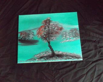 Trees Oil Painting