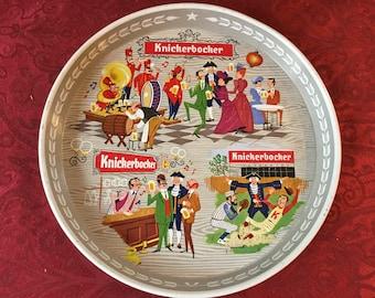 Vintage Knickerbocker Beer Tray / Retro Look / Very Good Condition