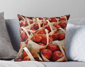 Apple Orchard pillow cover