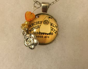 Handme Ouija Board Necklace with Charm