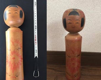 Traditional Wooden Japanese Kokeshi Doll