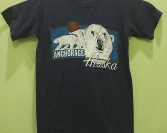 Rare Vintage T-Shirt Anchorage Alaska