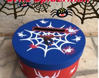 Urn, Super Hero Spiderman envelope box