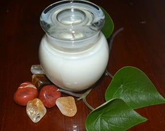 Crystal Soy Wax Candle