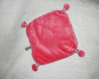 Pink comforter blanket