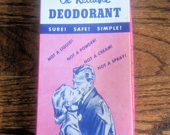Vintage gag gift deodorant