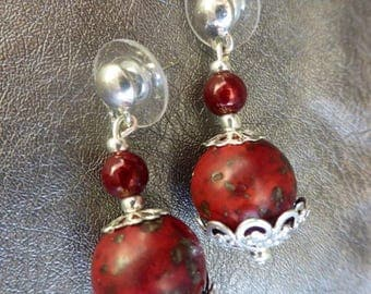 Gems Baroque earrings