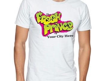 Custom Fresh Prince T Shirt