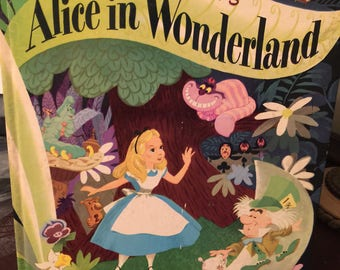 Walt Disney's Alice in Wonderland A Big Golden Book